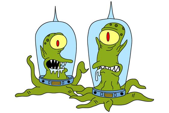 SimpsonsAliens